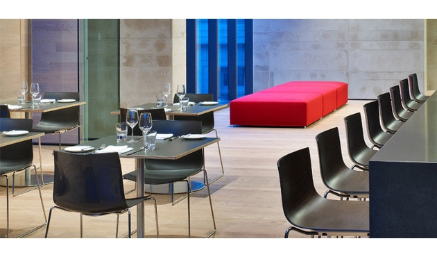 Arper - Catifa 46 Stuhl mit 5-strahligem Drehgestell 0294 - 13