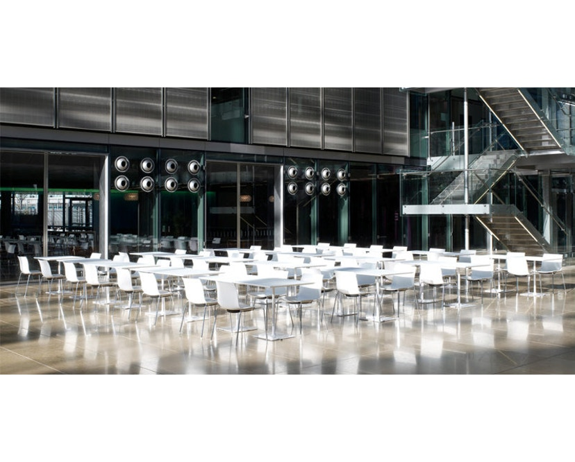Arper - Catifa 46 Stuhl mit 5-strahligem Drehgestell 0294 - 15