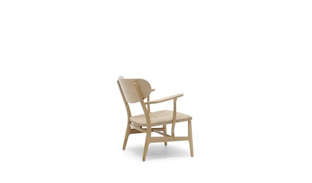 Carl Hansen - CH22 Sessel - Eiche geseift - Geflecht natur - 2