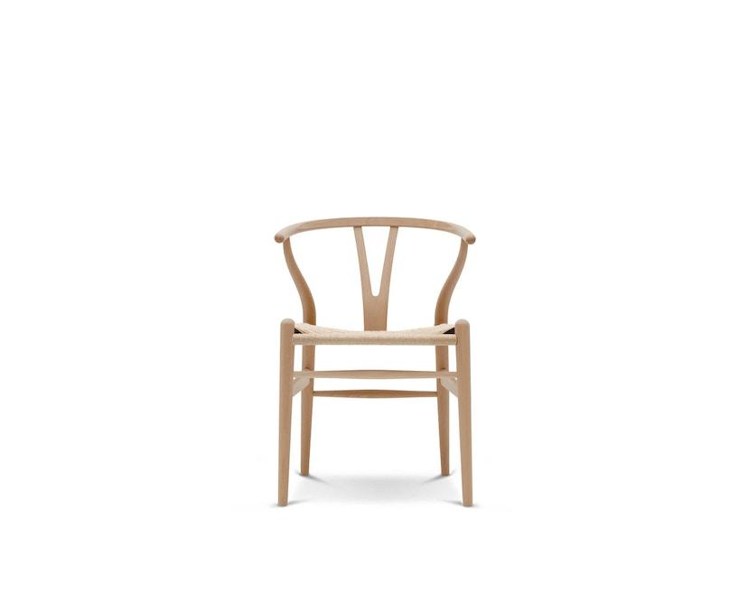 Carl Hansen - CH24 Y Wishbone stoel beuken - Vlecht natuur - beuk geolied - 1