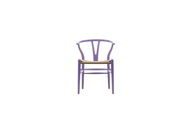 Carl Hansen - CH24 Y Wishbone Stuhl - lavendelfarben - 1