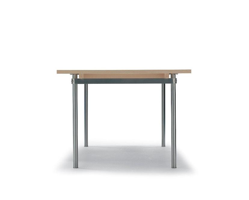 Carl Hansen - CH322 Tisch - M - Eiche geseift - Auszug für 2 Platten einschl. 1 Holzstützbein - 5