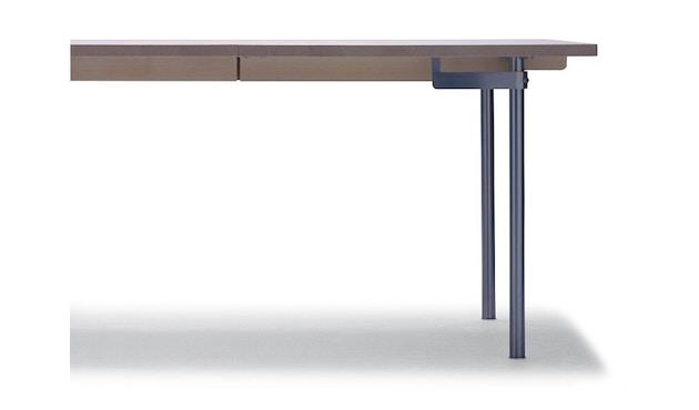 Carl Hansen - CH322 Tisch - M - Eiche geseift - Auszug für 2 Platten einschl. 1 Holzstützbein - 6