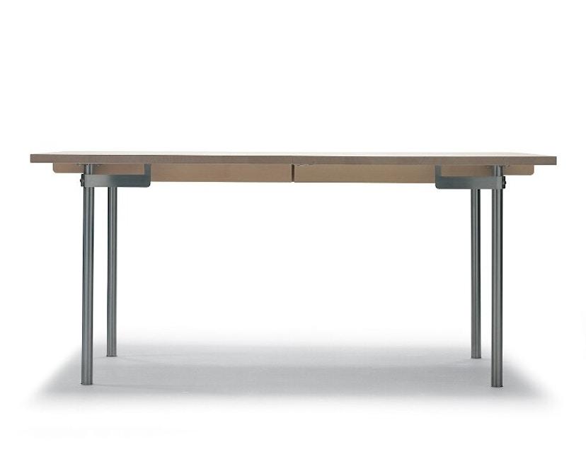 Carl Hansen - CH322 Tisch - M - Eiche geseift - Auszug für 2 Platten einschl. 1 Holzstützbein - 4