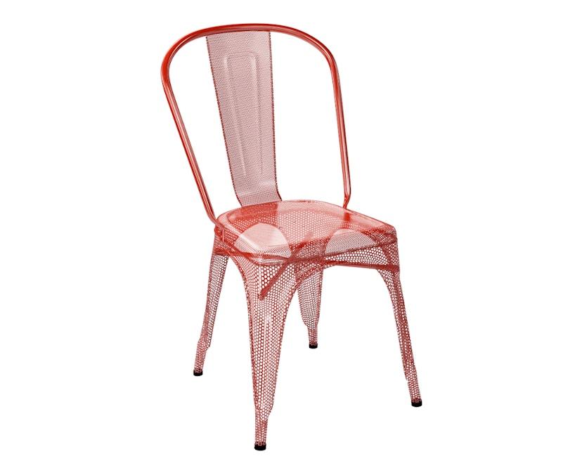 Tolix - A stoel geperforeerd - outdoor - haardrood - 1