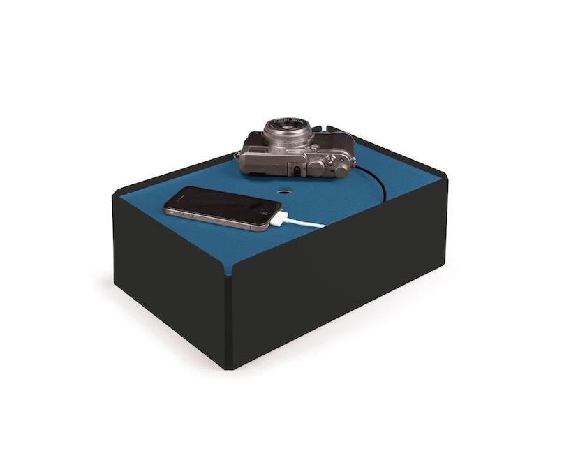 Konstantin Slawinski - Charge Box - blaues Leder - schwarz - 7