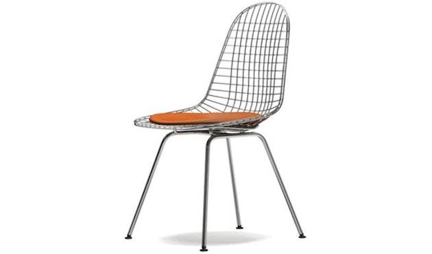 Vitra - Wire Chair DKX-5 - verchromt, Hopsak 05 dunkelgrau - Sitzhöhe 43 cm - 1