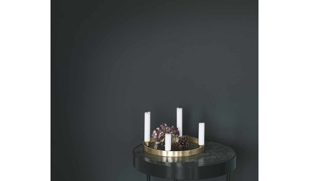 ferm LIVING - Circle Adventskranz - S - messing - 8