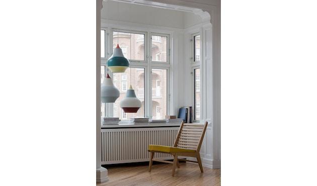 Louis Poulsen - Cirque hanglamp - mehrfarbig - M - kupferfarbenes Oberteil - geel bovenstuk - S - meerkleurig - 4