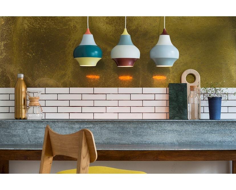Louis Poulsen - Cirque hanglamp - mehrfarbig - M - kupferfarbenes Oberteil - geel bovenstuk - S - meerkleurig - 6