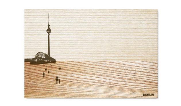 Pension für Produkte - Ontbijtplank Schöne Aussicht - Berlijn - Essenhout - 3