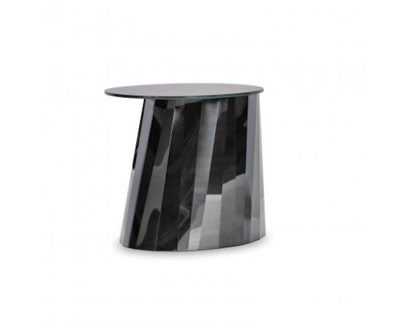 Classicon - Pli Beistelltisch - 48 cm - onyx schwarz - glänzend - 1
