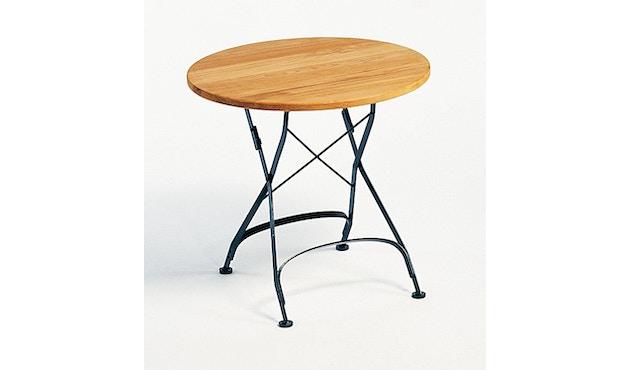 Weishäupl - Houten tafel rond - S - wit - 3