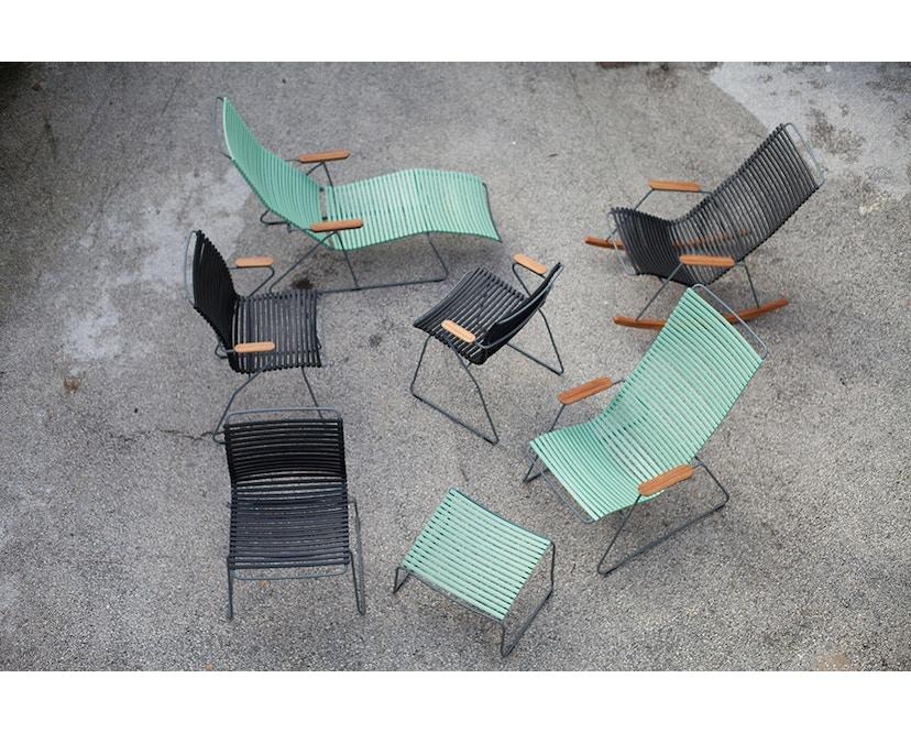 Houe - Click Footrest kruk schuin - mint - 3