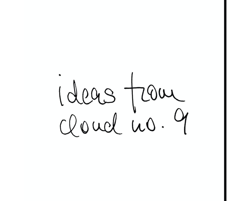 Merkzettel mit CloudNail