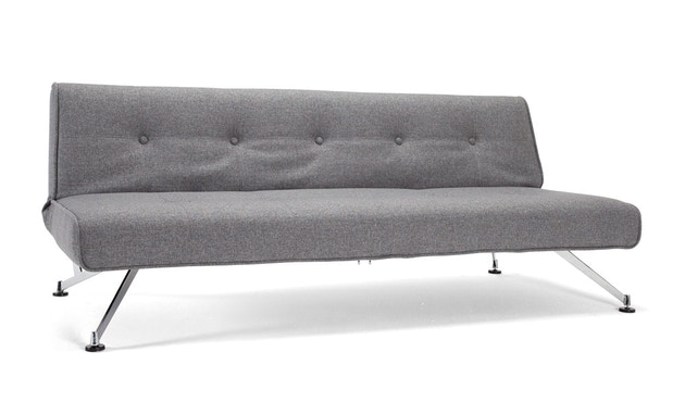 Innovation - Clubber Schlafsofa - Dess. 563 grau Charcoal Twist - 1