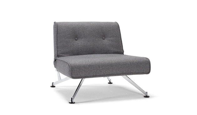 Innovation - Clubber Sessel - Dess. 563 grau Charcoal Twist - 1