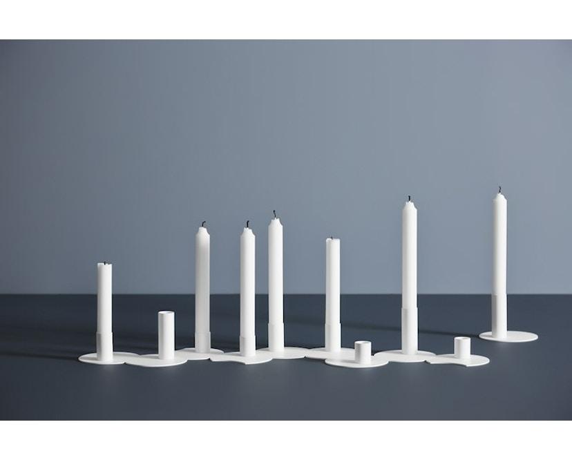 Woud - Cluster Kerzenhalter - White - L - 3