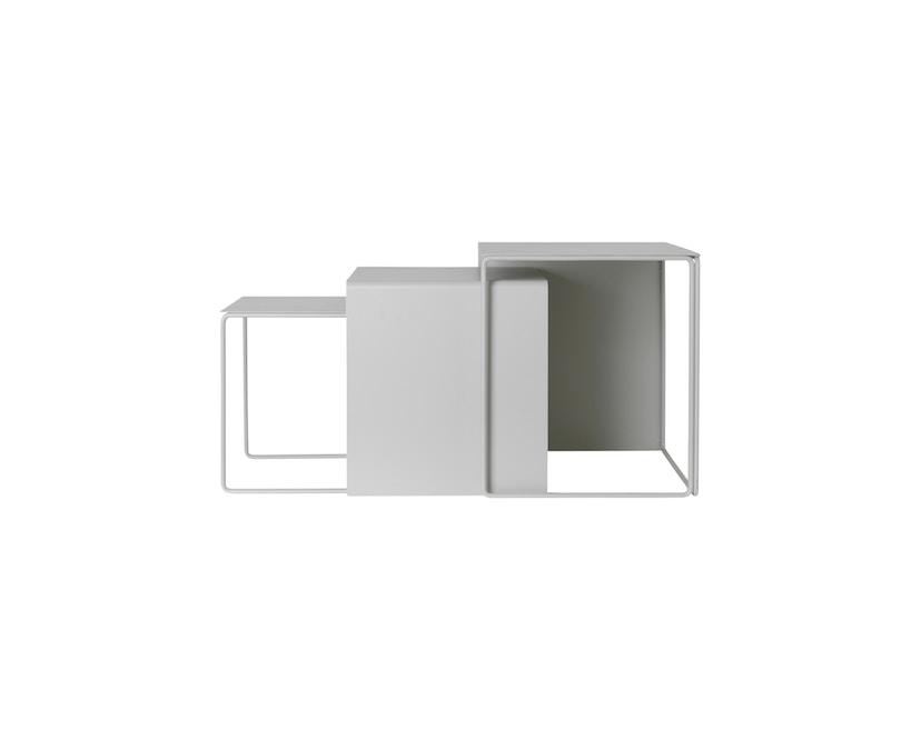 ferm LIVING - Clustertafels set van 3 - 3