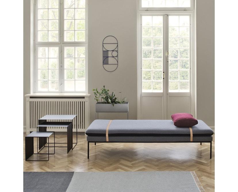 ferm LIVING - Cluster Tische 3er-Set - schwarz - 2