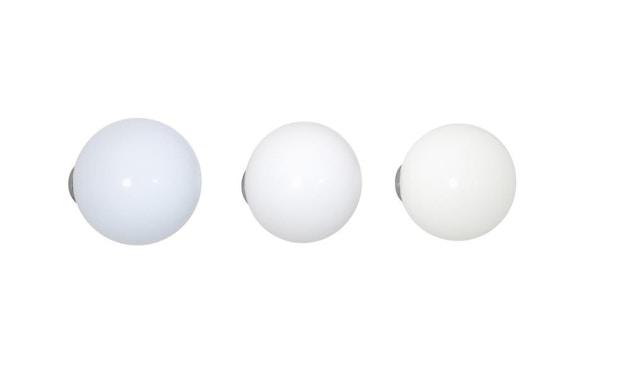 Vitra - Coat Dots Kleiderhaken - weiß - 1