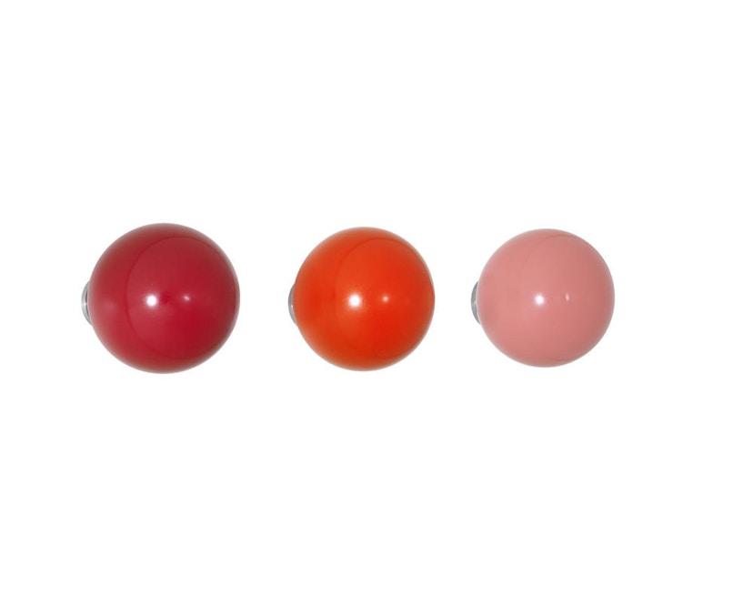 Vitra - Coat Dots Kleiderhaken - rot - 1