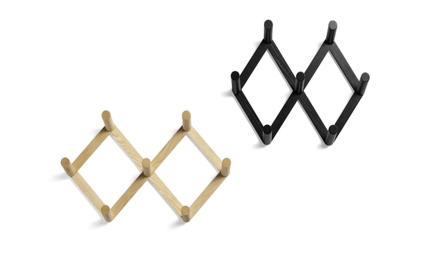 HAY - Kleiderhaken - Esche schwarz gebeizt - 3