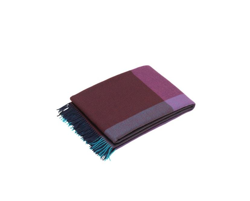 Vitra - Colour Block Decke - blue - bordeaux - 13