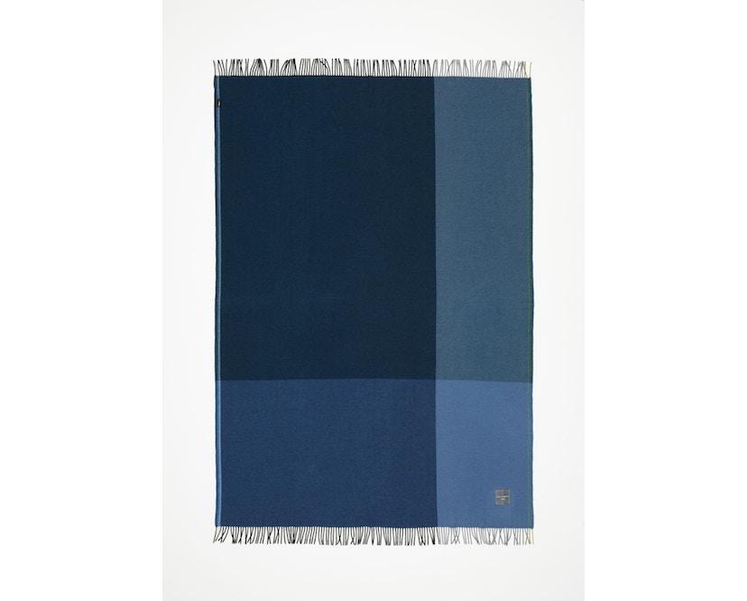 Vitra - Colour Block Decke - schwarz - blau - 8