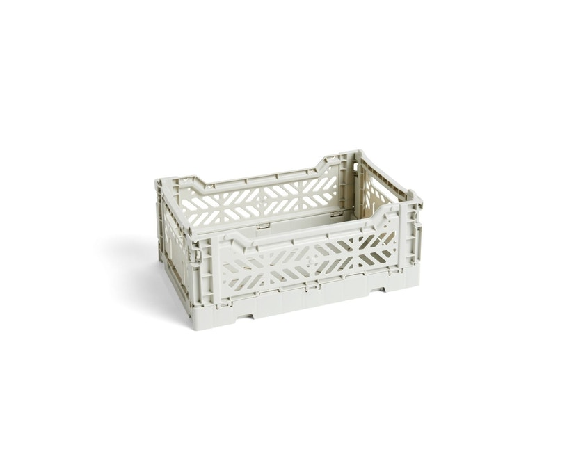 HAY - Colour Crate Korb - light grey - S - 1