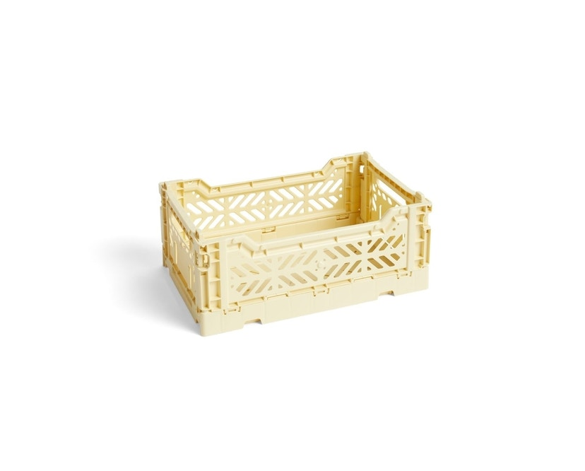 HAY - Colour Crate Korb - light yellow - S - 1