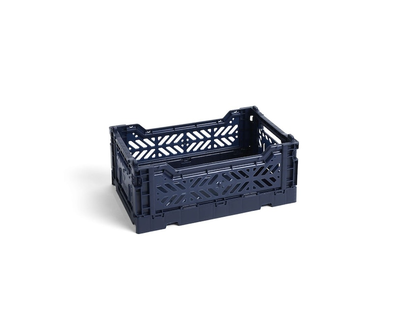 HAY - Colour Crate Mand - S - navy - 1