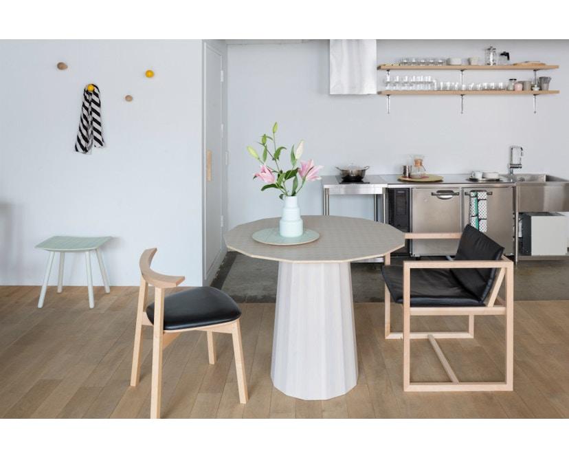 Karimoku New Standard - Colour Wood Esstisch 95 - natur - Eiche / Kastanie - 10