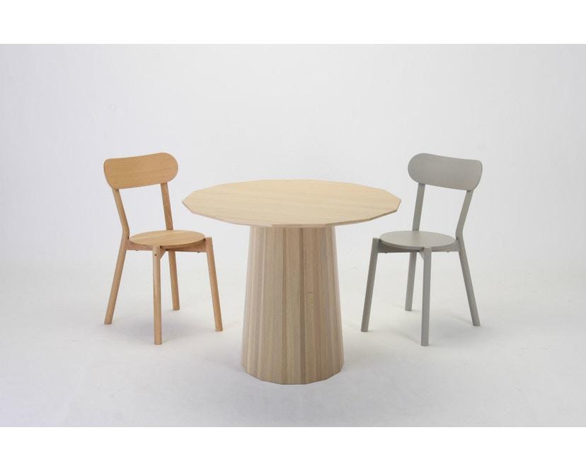 Karimoku New Standard - Colour Wood Esstisch 95 - natur - Eiche / Kastanie - 11