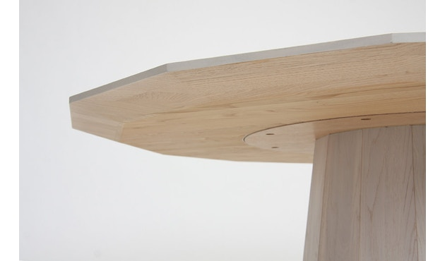 Karimoku New Standard - Colour Wood Esstisch 95 - natur - Eiche / Kastanie - 2