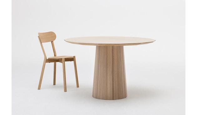 Karimoku New Standard - Colour Wood Esstisch 95 - natur - Eiche / Kastanie - 4