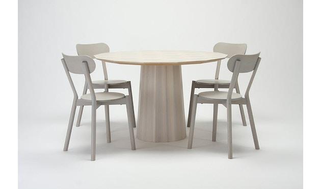 Karimoku New Standard - Colour Wood Esstisch 95 - natur - Eiche / Kastanie - 5