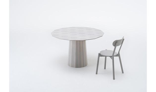 Karimoku New Standard - Colour Wood Esstisch 95 - natur - Eiche / Kastanie - 7
