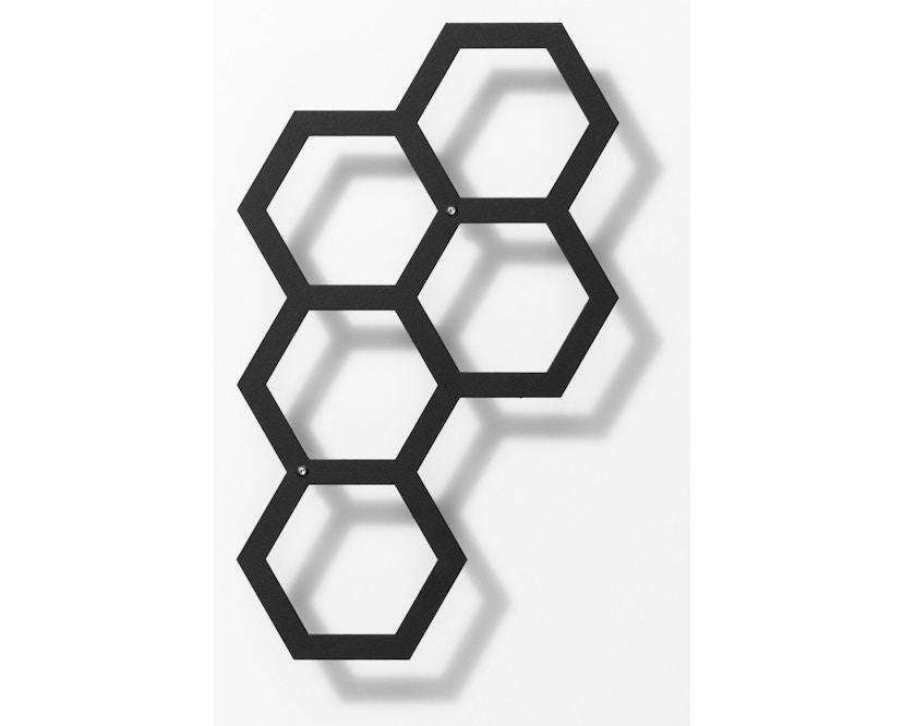 Flora - Comb-ination 30 Pflanzenspalier - Lichtgrau  - 1