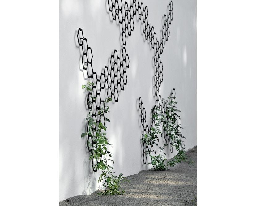 Flora - Comb-ination 30 Pflanzenspalier - Lichtgrau  - 3