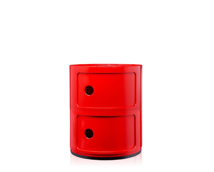 Kartell - Componibili Container - 2 Elemente - rot - 6