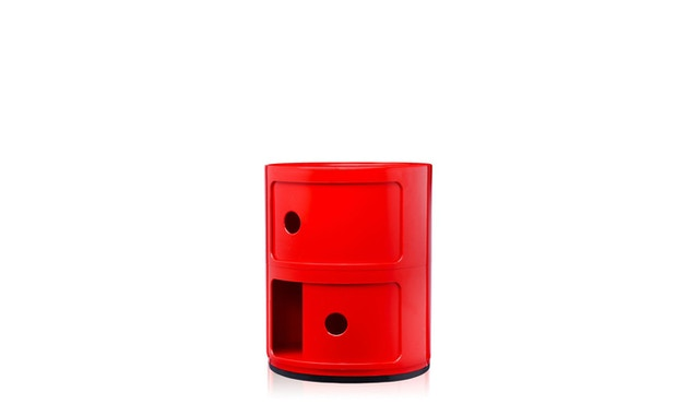 Kartell - Componibili Container - 2 Elemente - rot - 8