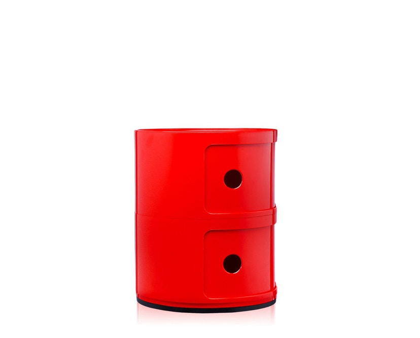 Kartell - Componibili Container - 2 Elemente - rot - 7