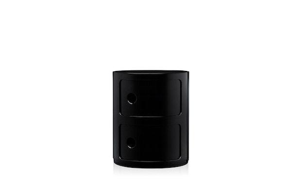 Kartell - Componibili Container - 2 Elemente - schwarz - zwart - 3