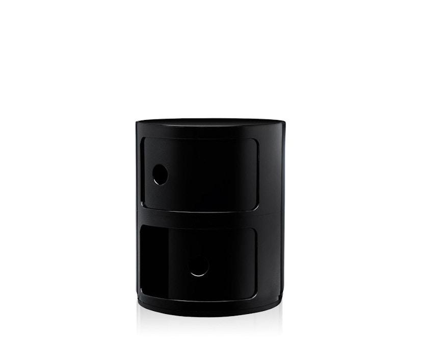Kartell - Componibili Container - 2 Elemente - schwarz - zwart - 4