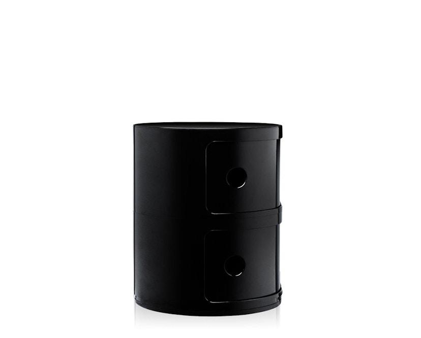Kartell - Componibili Container - 2 Elemente - schwarz - zwart - 5
