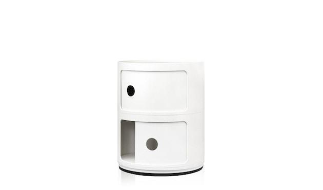 Kartell - Componibili Container - 2 Elemente  - weiß - 2