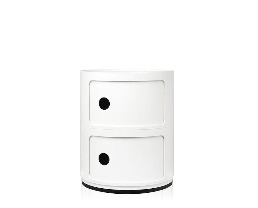 Kartell - Componibili Container - 2 Elemente  - weiß - 1