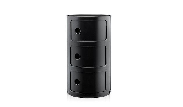 Kartell - Componibili Container - 3 Elemente - schwarz - 1