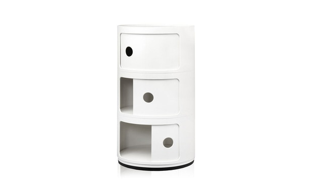 Kartell - Componibili Container - 3 elementen - wit - 2